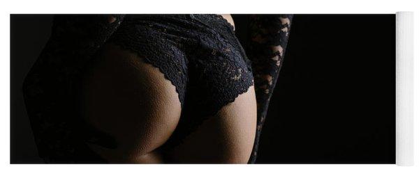 Female Erotic Lingerie Yoga Mat