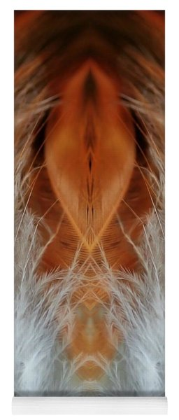 Female Feathers Yoga Mat