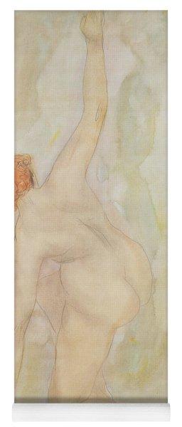 Female Nude Yoga Mat