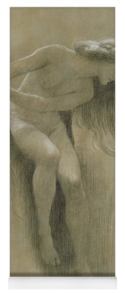 Female Nude Study  Yoga Mat