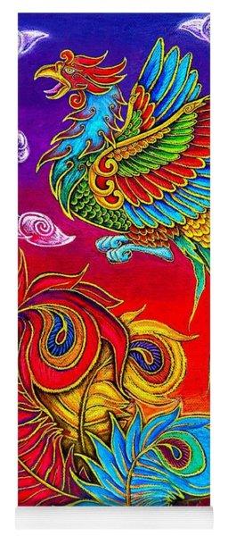 Fenghuang Chinese Phoenix Yoga Mat
