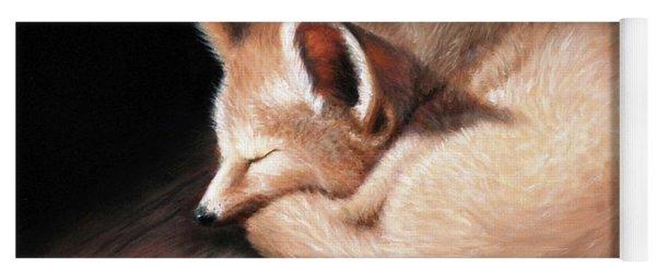 Fennec Fox Yoga Mat
