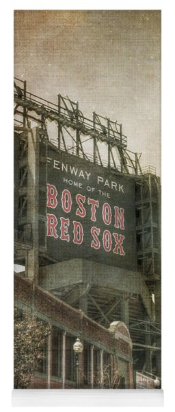 Fenway Park Billboard - Boston Red Sox Yoga Mat