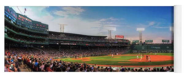 Fenway Park Panoramic - Boston Yoga Mat