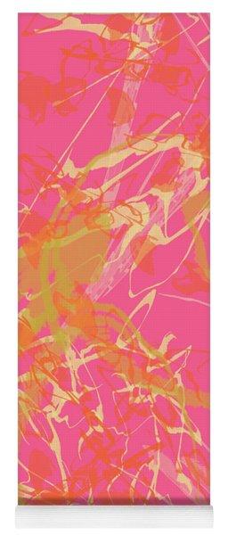 Fern Palette Painting #1 Yoga Mat