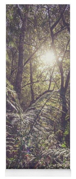 Ferns And Sunshine Yoga Mat