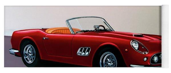 Ferrari 250 Gt California Spyder 1957 Painting Yoga Mat