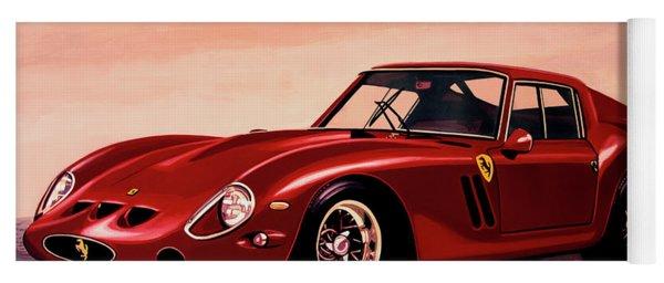 Ferrari 250 Gto 1962 Painting Yoga Mat