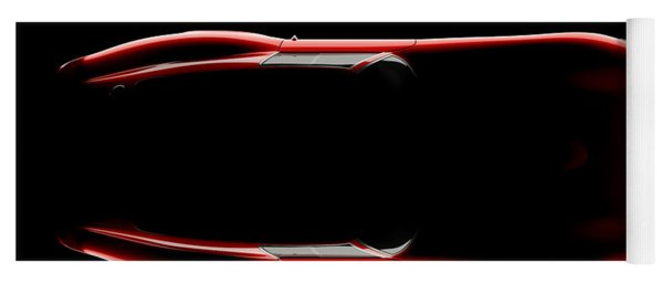 Ferrari 250 Gto - Top View Yoga Mat