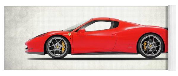 Ferrari 458 Italia Yoga Mat