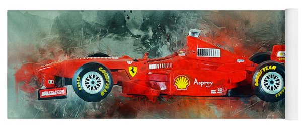 Ferrari F1 Yoga Mat