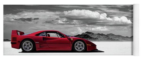 Ferrari F40 Yoga Mat