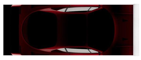 Ferrari F40 - Top View Yoga Mat