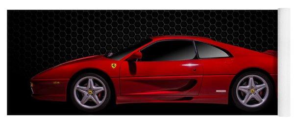 Ferrari Red - 355  F1 Berlinetto Yoga Mat