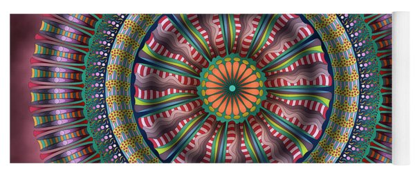 Ferris Wheel Yoga Mat