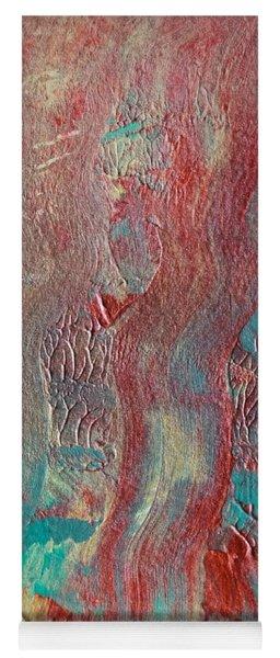 Festive Season 5 #abstract Yoga Mat