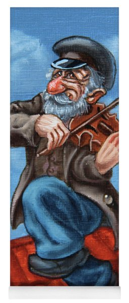 Fiddler On The Roof. Op.#2774.miniature Yoga Mat