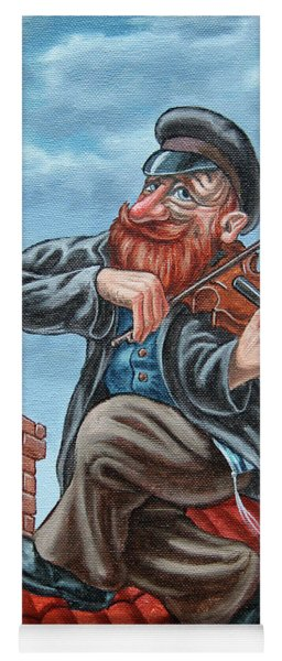 Fiddler On The Roof. Redhead Yoga Mat