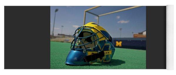Field Hockey Helmet Yoga Mat