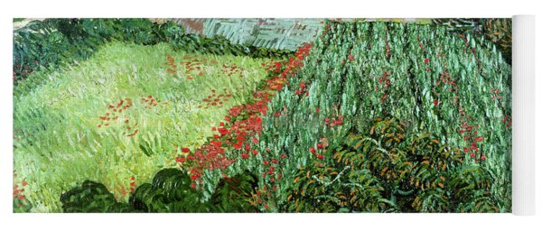 Field With Poppies Yoga Mat