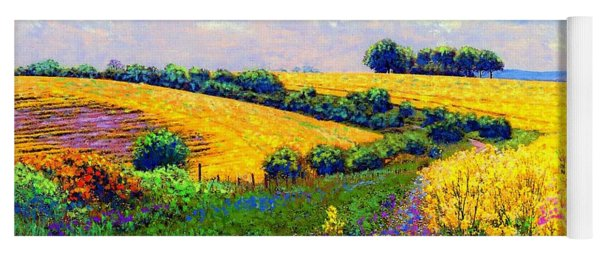 Fields Of Gold Yoga Mat