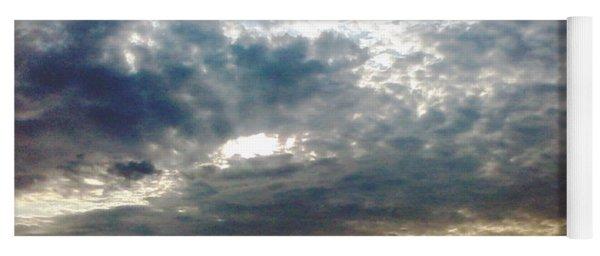 Fierce Skies Yoga Mat