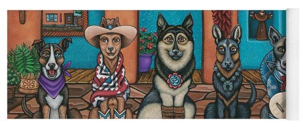 Fiesta Dogs Yoga Mat