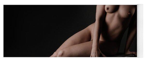 Fine Art Of A Woman Yoga Mat