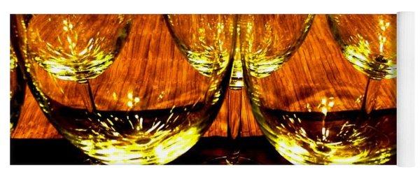 Fine Wine And Dine 3 Yoga Mat