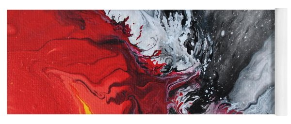Fire And Ice Yoga Mat