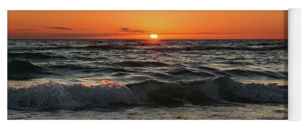 Cape San Blas Sunset Yoga Mat