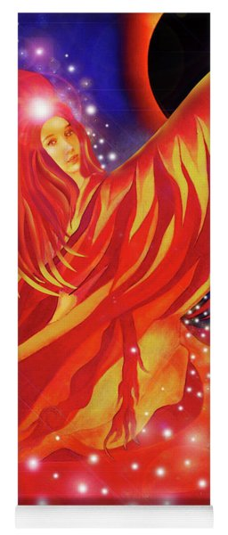 Fire Fairy Yoga Mat