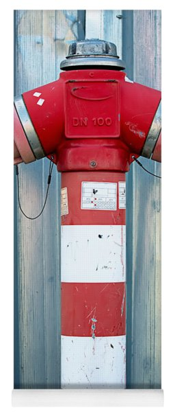Fire Hydrant Steel Wall Yoga Mat