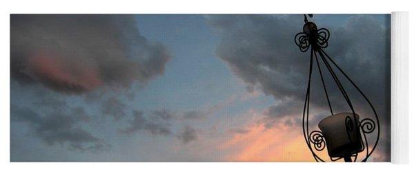 Fire In The Clouds Yoga Mat