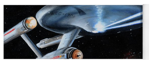 Fire Phasers Yoga Mat