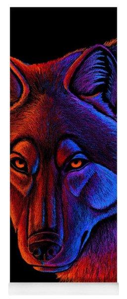 Fire Wolf Yoga Mat