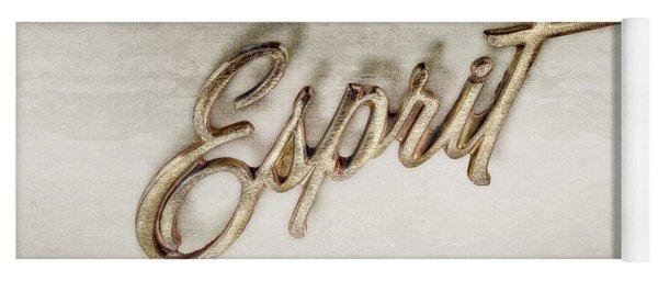 Firebird Esprit Chrome Emblem Yoga Mat