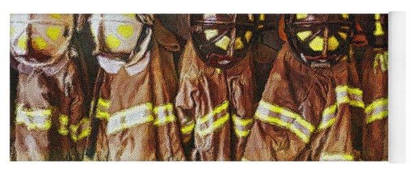 Firefighters Uniforms Yoga Mat