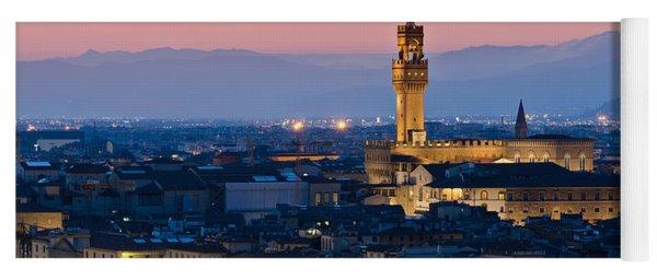 Firenze At Sunset Yoga Mat