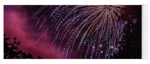 Fireworks 1 Yoga Mat