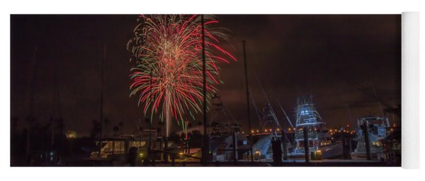 Fireworks, 2018 Yoga Mat