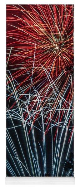 Fireworks 3 Yoga Mat