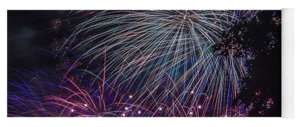 Fireworks 4 Yoga Mat