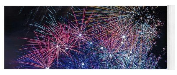 Fireworks 5 Yoga Mat