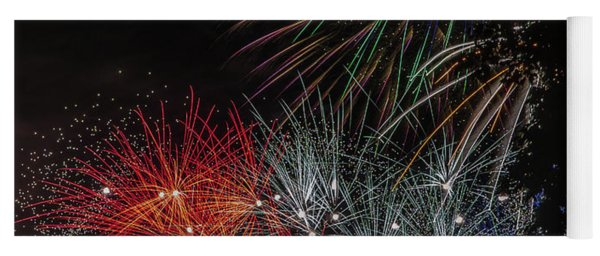 Fireworks 6 Yoga Mat