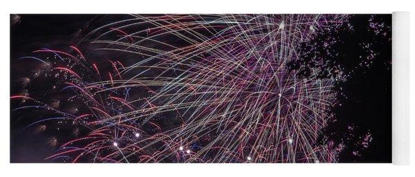 Fireworks 7 Yoga Mat