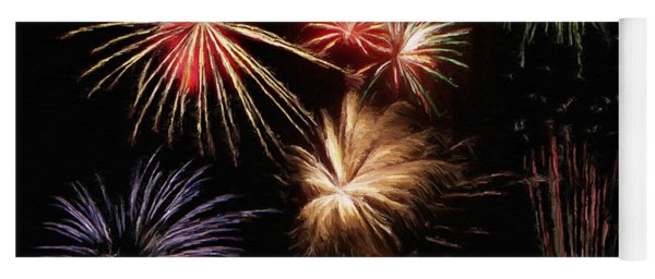 Fireworks Yoga Mat