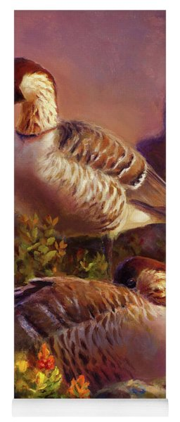 First Light Nene Hawaiian Goose Yoga Mat