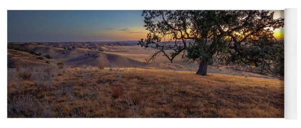 First Light On The  Canyon Ranch Yoga Mat