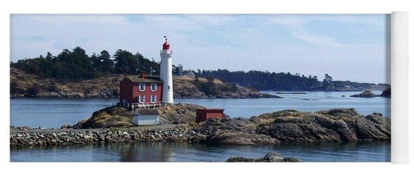 Fisgard Lighthouse Shoreline Yoga Mat